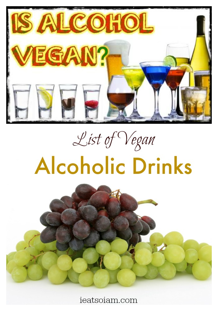 Can vegans drink alcohol for List of mixed drinks