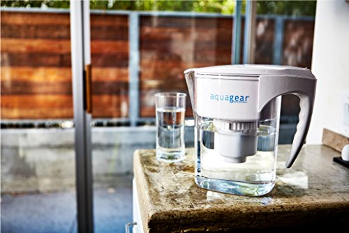 Aquagear - Water Filter Pitcher That Removes Fluoride & Lead