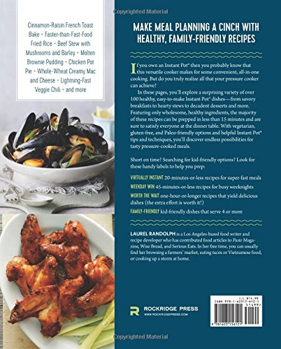 Instant Pot Instant Pot Pressure Cooker Cookbook With Easy And Healthy Recipes