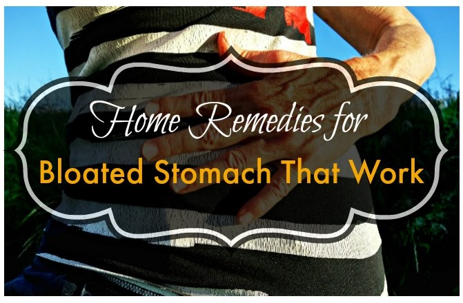 Best Home Remedies for Bloated Stomach
