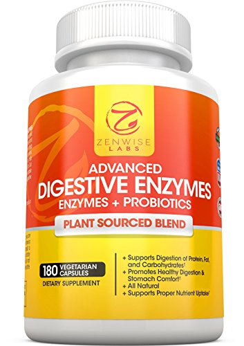 ZenWise Labs Advance Digestive Enzymes + Probiotics